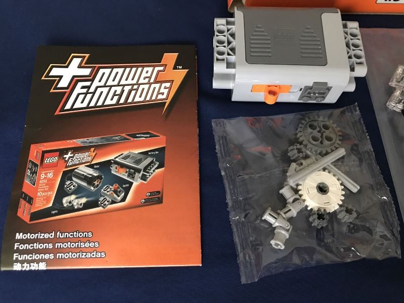 how to use lego technic power functions