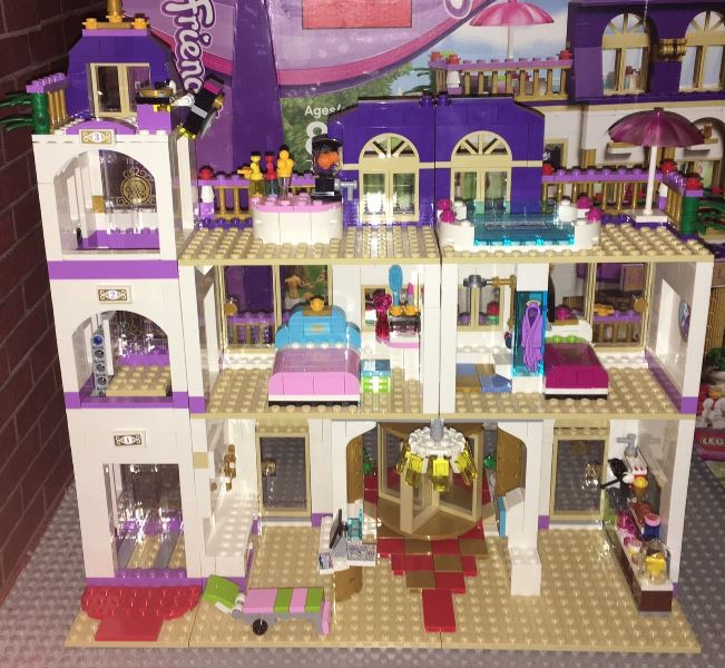 LEGO Friends 41101 Heartlake Grand Hotel Building Kit Review